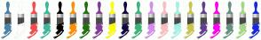 Color Scheme with #4C82A7 #FFFFFF #F64B4B #3EB89C #000000 #FF9001 #22710F #833E94 #FEFF00 #16073E #3CB378 #D48DEB #FCBEBE #A2F4E5 #CBC64D #63408F #FF00EF #659181 #A4D889 #1828DF