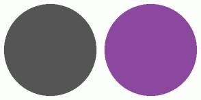 Color Scheme with #555555 #8C489F