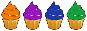 Color Scheme with #F77C00 #A210C7 #1A38B0 #0CA63A