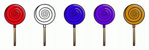 Color Scheme with #F70713 #FFFFFF #3602F5 #6F05F0 #D18C0A