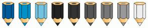 Color Scheme with #005B9A #0191C8 #74C2E1 #222222 #333333 #555555 #777777 #999999 #EEEEEE