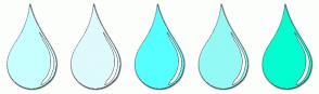 Color Scheme with #C7FFFF #DEFAFB #55FFFF #93F9F5 #02FDD1