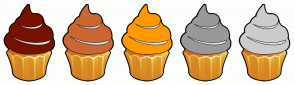 Color Scheme with #771100 #CC6633 #FF9900 #999999 #CCCCCC