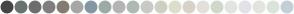 Color Scheme with #454545 #697372 #6E6E6E #7F7F7F #847C71 #A7A7A7 #8697A4 #9CABA5 #B4B4B4 #AFBAB6 #C9CAC5 #CED0C2 #DDDDCC #D8D2C9 #E3E0DA #D0D9CC #E1E5DF #E4E1E8 #E3E4DE #DCE2DC #C3CED7