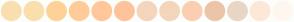 Color Scheme with #FADFAF #FADFAD #FFD197 #FFCC99 #FFC79A #FFC39C #F5D5BC #F4D6BC #FBCEB1 #ECC5A8 #E9D6C5 #FDE8D7 #FFF7EF