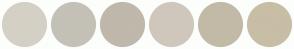Color Scheme with #D4D0C5 #C4C1B7 #BFB8AB #CFC7BC #C2BAA7 #C7BEA5