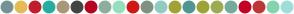 Color Scheme with #769393 #E6BB57 #C21D2E #26ADA0 #AB977A #444444 #B50520 #8EAD9E #97DEC1 #CF1717 #809183 #91CCC3 #A1A337 #509693 #9EA337 #9EAB52 #74AB9A #C40027 #BF3636 #83D4AF #9EDEDA