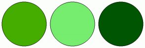 Color Scheme with #45AD00 #76ED6F #005502