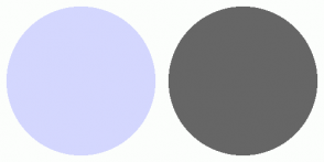 Color Scheme with #D4D7FE #666666