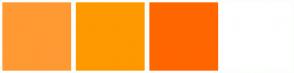 Color Scheme with #FF9933 #FF9900 #FF6600 #FFFFFF