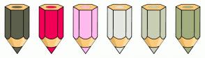 Color Scheme with #5C604D #F20056 #FFBAEE #E5E7E1 #C8CFB4 #A3AE7E