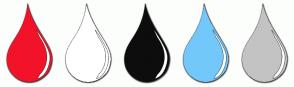 Color Scheme with #F2132A #FFFFFF #0D0D0D #73C8FA #C3C3C3