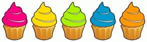 Color Scheme with #FF0080 #FFDE00 #AAF200 #0099CC #FF9900