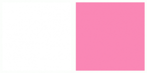 Color Scheme with #FFFFFF #FA87B5