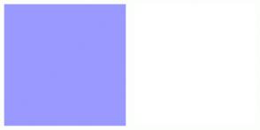 Color Scheme with #9999FF #FFFFFF
