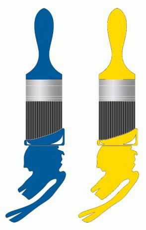 Color Scheme with #005B9A #FFD900