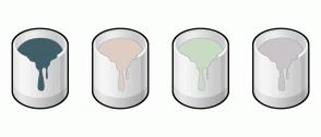 Color Scheme with #415F69 #DECEC3 #CADBC5 #C9C5C9