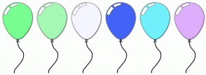 Color Scheme with #78FE91 #A6F8B5 #F4F5FF #4363F6 #70F0FA #DEAEFC