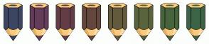 Color Scheme with #3C4663 #643D5A #643D47 #64473D #645A3D #5A643D #47643D #3D6447
