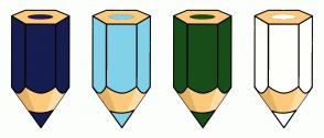 Color Scheme with #161D51 #81D2E8 #184D19 #FFFFFB