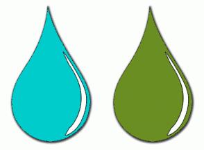Color Scheme with #00CCCC #6B8E23
