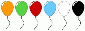 Color Scheme with #FF9900 #55D43F #CC0000 #66CCFF #FFFFFF #000000
