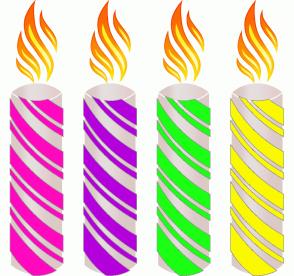 Color Scheme with #FF09BF #B400DC #1BFF14 #FBF900