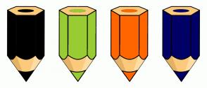 Color Scheme with #000000 #99CC33 #FF6600 #000066