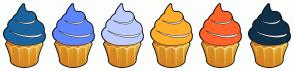 Color Scheme with #1B649D #5E86FD #BDCDFF #FFAE2A #FF622A #0F3049