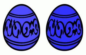 Color Scheme with #4D4DFF #3333FF
