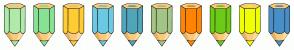 Color Scheme with #AFEAAA #87E293 #FFCC33 #6BCAE2 #51A5BA #A3C586 #FE8402 #6CCB17 #F0FF05 #488FC8