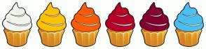 Color Scheme with #F2F5ED #FFC200 #FF5B00 #B80028 #84002E #4AC0F2