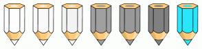 Color Scheme with #FFFFFF #FAFAFA #F4F4F4 #A0A0A0 #999999 #808080 #2BE6FB