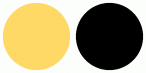 Color Scheme with #FFD966 #000000