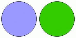 Color Scheme with #9999FF #33CC00