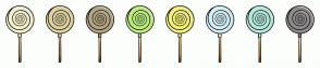 Color Scheme with #F4F0CB #DED29E #B3A580 #BBEE7D #F4F077 #D4F1F6 #B4EADC #8E8B8B