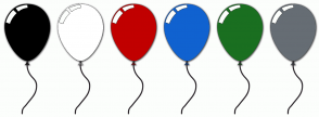 Color Scheme with #000000 #FFFFFF #C10000 #1062D0 #1A6F20 #666D74