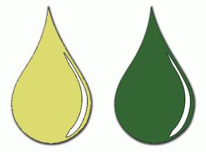 Color Scheme with #DBDB70 #336633