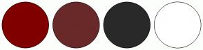 Color Scheme with #800000 #692929 #292929 #FFFFFF