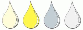 Color Scheme with #FFFDD9 #FFF74C #C3CED4 #F1F1F1