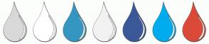 Color Scheme with #D9D9D9 #FFFFFF #3696C2 #F2F2F2 #3B5998 #00ACEE #DB4A39