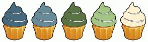 Color Scheme with #47697E #688B9A #5B7444 #A3C586 #FCF1D1