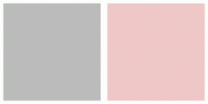 Color Scheme with #BBBBBB #EEC7C7