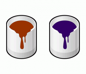 Color Scheme with #993300 #330066