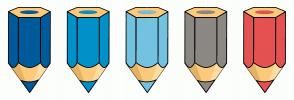 Color Scheme with #005B9A #0191C8 #74C2E1 #8C8984 #E55252