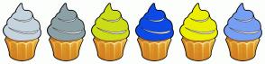 Color Scheme with #C5D4DF #8CA1A5 #CCDD18 #0D4AE5 #ECEF02 #779FF3