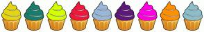 Color Scheme with #E5D511 #1A7D6B #D4FF00 #F1173D #9AB7D9 #5D1978 #FF00E4 #FF9000 #8CBECB