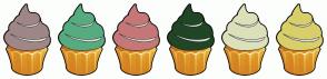 Color Scheme with #A08787 #57AB81 #C67777 #214625 #DDE1BA #D9CF6A