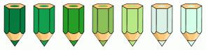 Color Scheme with #057B3F #129F4F #279E27 #8CC058 #B8E986 #DBF3E6 #D6FFEA