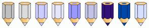 Color Scheme with #C0C0C0 #DCDCDC #CCCCFF #E6E6FA #9999FF #C3C3E5 #32127A #0047AB #D6DFFF